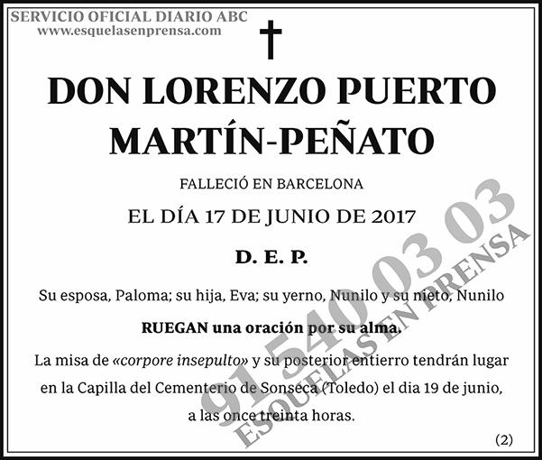 Lorenzo Puerto Martín-Peñato